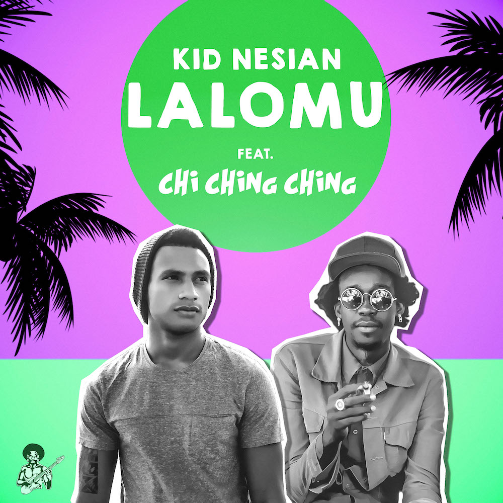 Kid Nesian Collabs with International Dancehall Artist Chi Ching Ching